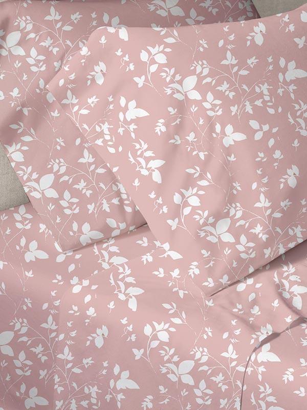 Παπλωματοθήκη Μεμονωμένη Μονή 170X250 Sunshine Menta 040 Pink (170×250)