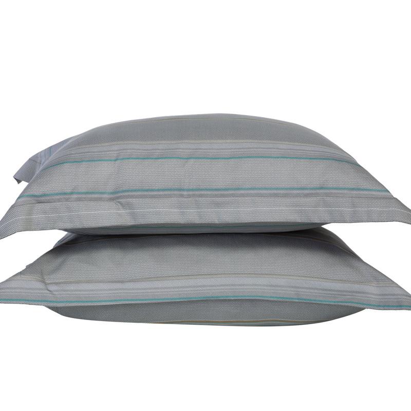 Μαξιλαροθήκες Ζεύγος Oxford 52X72 Nef Nef Premium Sateen Strider Grey