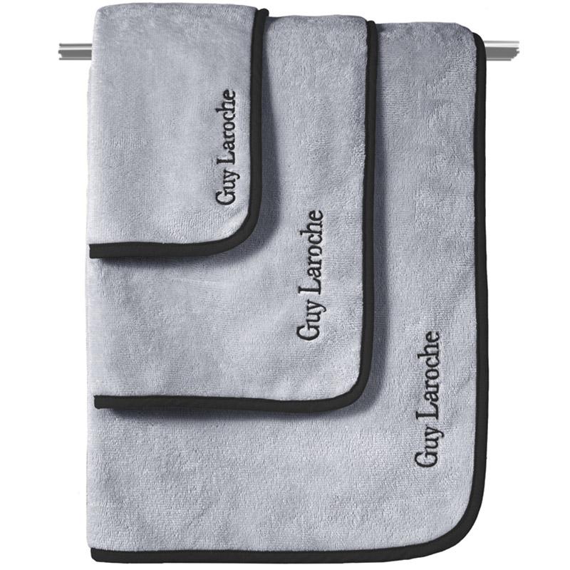 Πετσέτες Μπάνιου (Σετ 3 Τμχ) Guy Laroche New Comfy Smoke