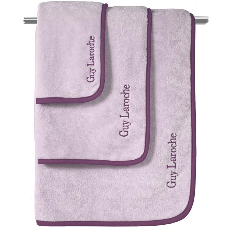Πετσέτες Μπάνιου (Σετ 3 Τμχ) Guy Laroche New Comfy Lilac