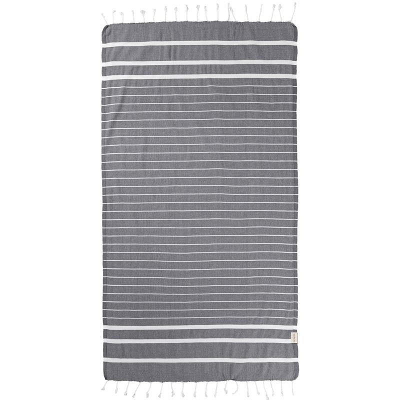Πετσέτα Θαλάσσης 90×170 Guy Laroche Παρεο 10 Anthracite