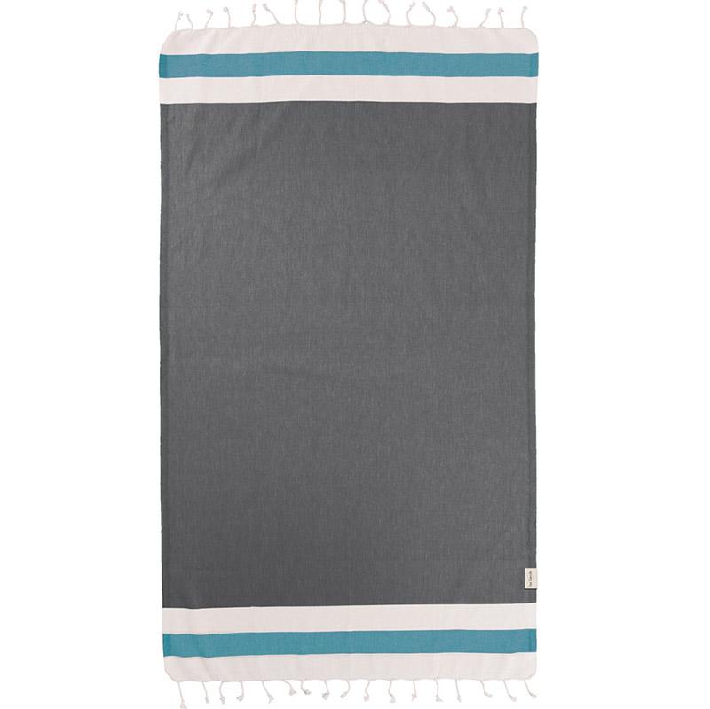 Πετσέτα Θαλάσσης 90×170 Guy Laroche Παρεο 11 Anthracite