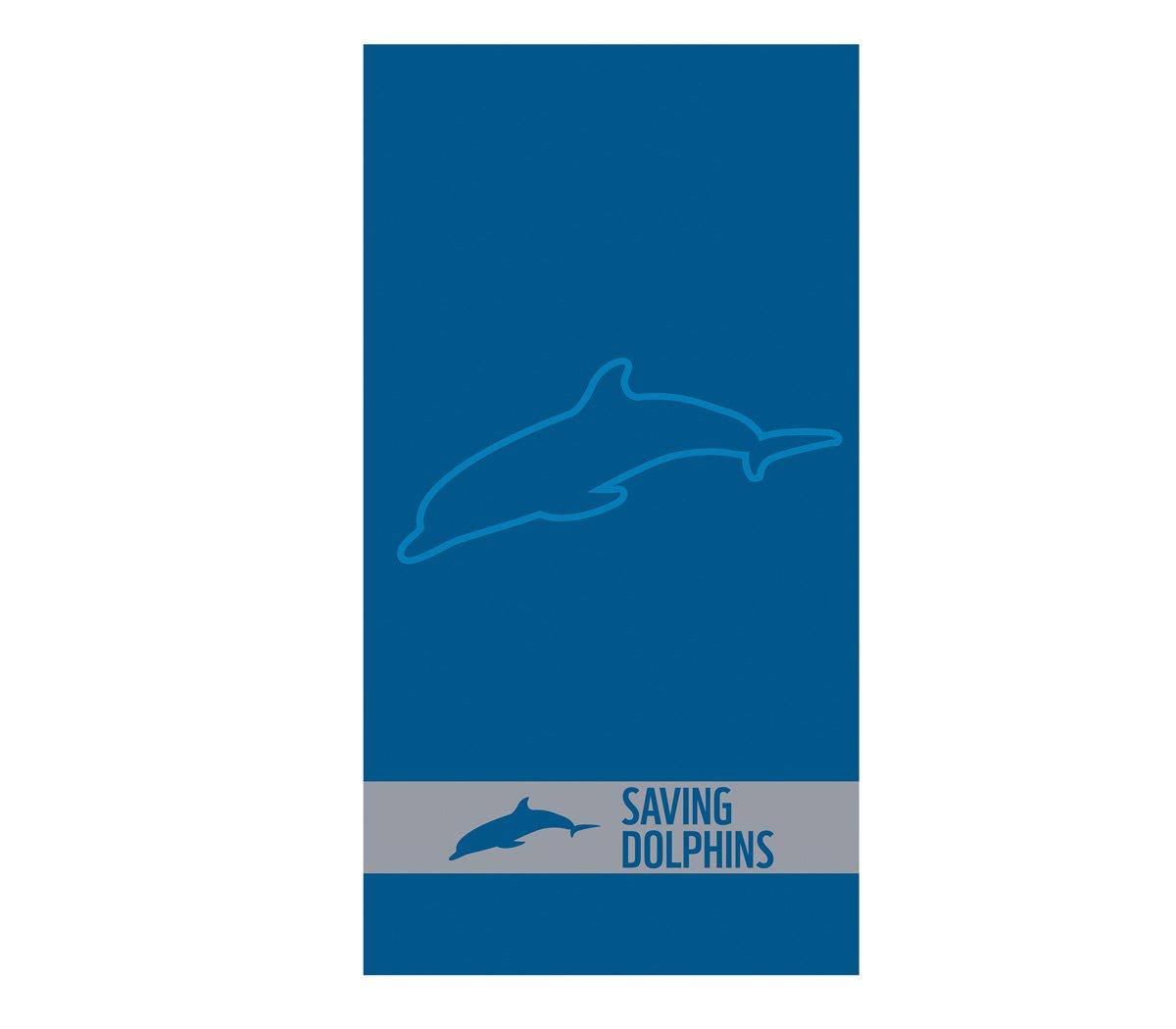Πετσέτα Θαλάσσης 80×160 Nef Nef Ζακαρ Wwf Μπλε