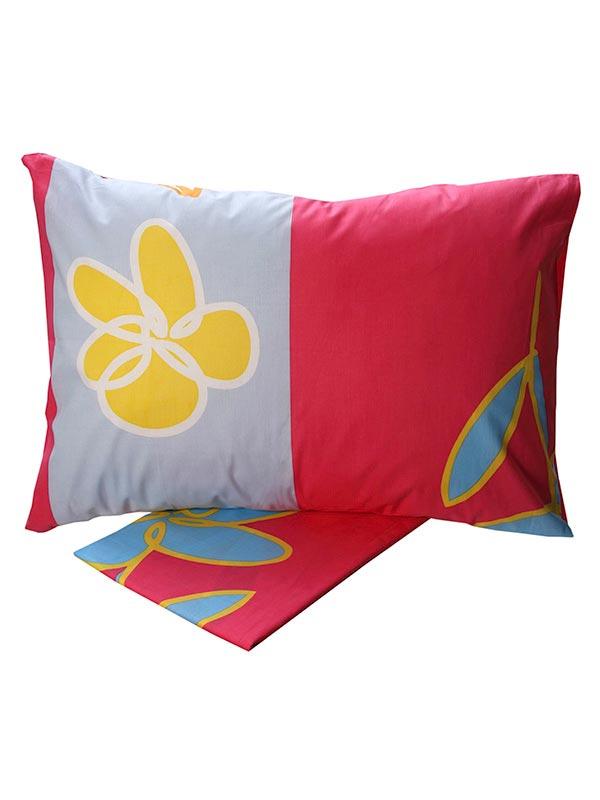 Σεντόνια Μονά (Σετ) 160X260 Sunshine Cotton Feelings 129 Pink Χωρίς Λάστιχο (160×260)