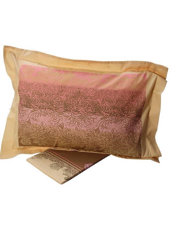 Σεντόνια Μονά (Σετ) 160X260 Sunshine Cotton Feelings 873 Pink Χωρίς Λάστιχο (160×260)