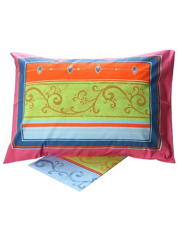 Σεντόνια Μονά (Σετ) 160X260 Sunshine Cotton Feelings 9804 Pink Χωρίς Λάστιχο (160×260)