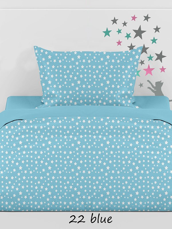 Φανελένια Σεντόνια (Σετ) Μονά – Sunshine Stars 22 Blue