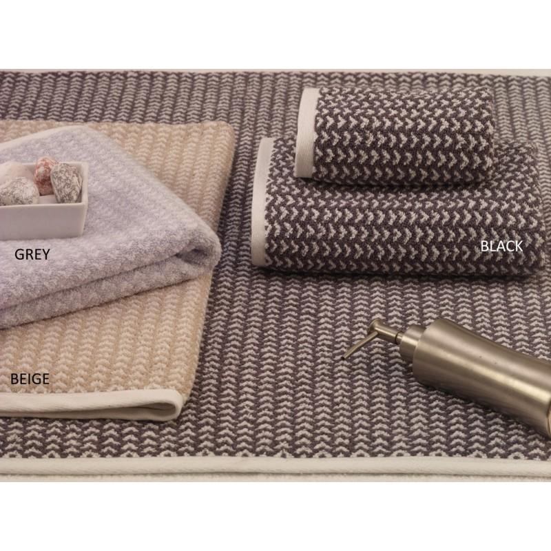Πετσέτες (Σετ 3 Τμχ) Palamaiki Premium Towels 166 Beige