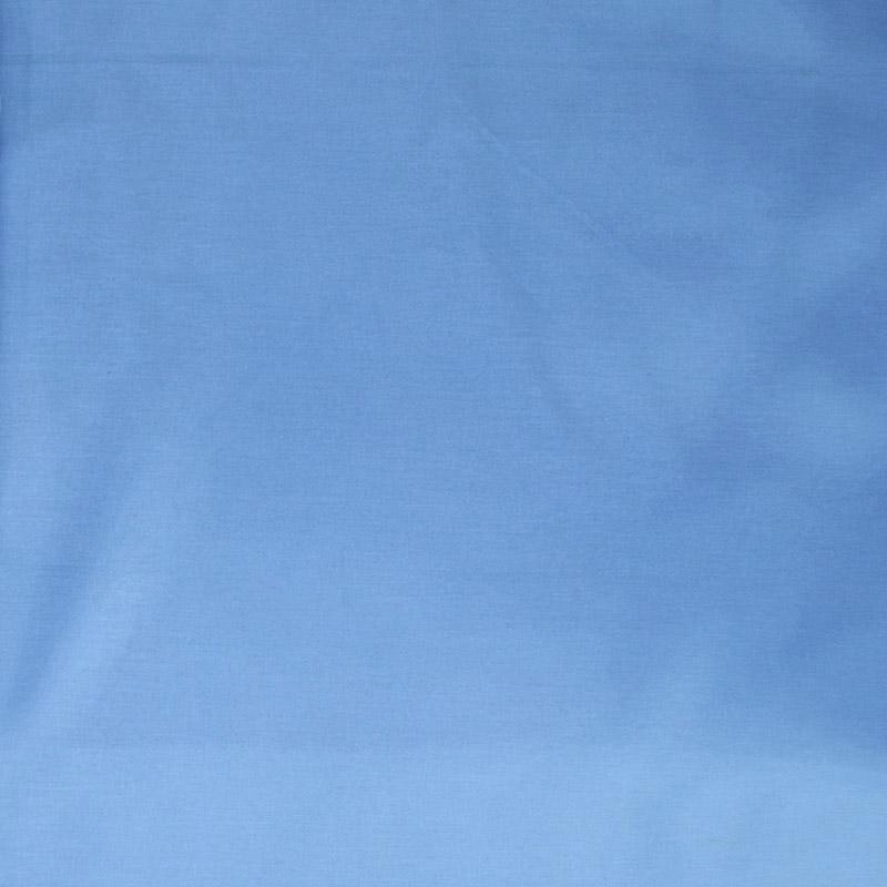 Σεντόνι Μεμονωμένο Λίκνου 80X110 Dimcol Solid Sky Blue Χωρίς Λάστιχο (80×110)