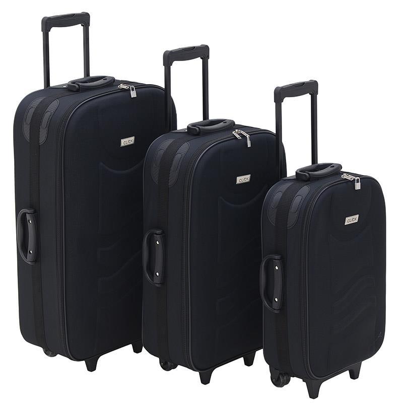 Βαλίτσα Ταξιδιού Σετ Των 3 Click 6-70-014-0001