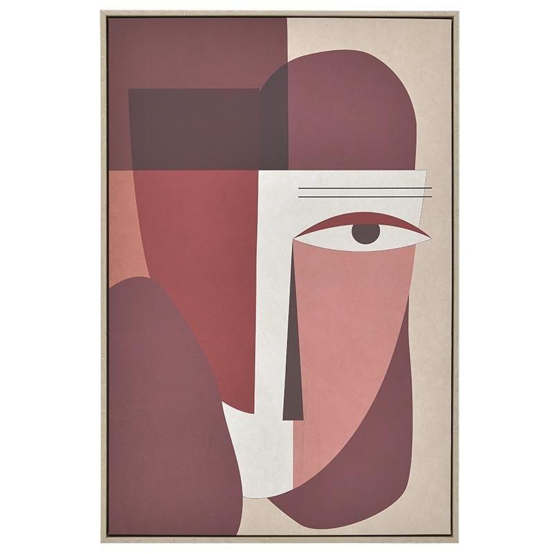 Πίνακας Printed Καμβάς Inart 3-90-704-0038 60x90