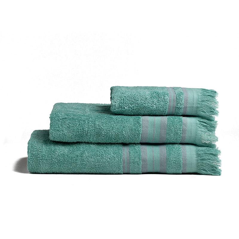 Πετσέτες Μπάνιου (Σετ 3 Τμχ) Melinen Yoga Aqua