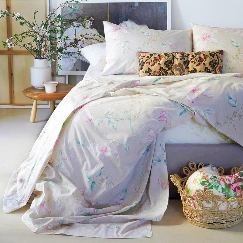 Σεντόνια King Size (Σετ) 260X270 Melinen Vogue Beige Χωρίς Λάστιχο