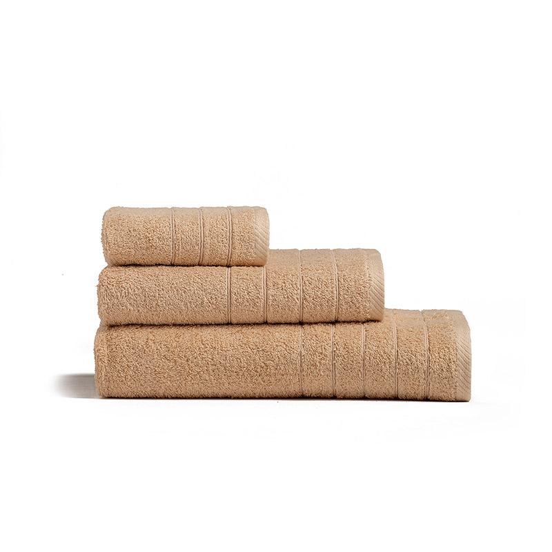 Πετσέτα Χεριών 30X50 Melinen Fresca Beige (30×50)
