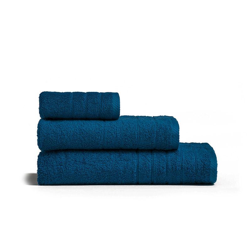 Πετσέτα Μπάνιου 70X140 Melinen Fresca Dark Blue (70×140)