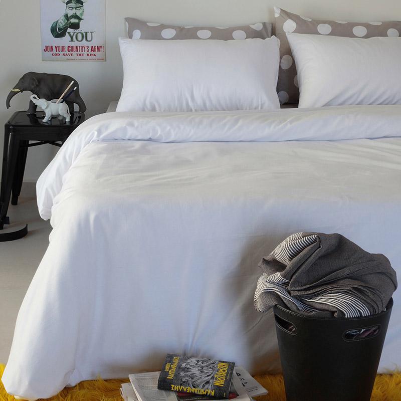 Μαξιλαροθήκες Ζεύγος 50X70 Melinen Urban White (50×70)