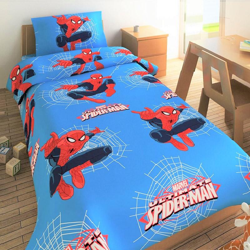 Κουβερλί Μονό 170X260 Disney Dimcol Spiderman 661