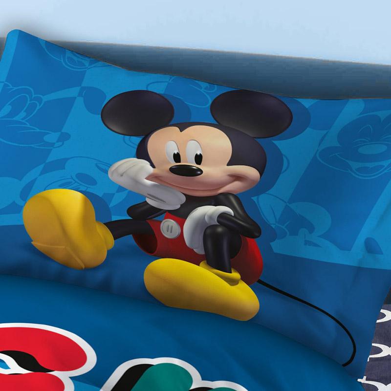 Μαξιλαροθήκες Ζεύγος 50X70 Disney Dimcol Mickey 865 (50x70)