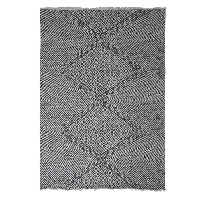 Χαλί Σαλονιού All Season Royal Carpet Casa Cotton 1.57X2.30 – 22091 Black