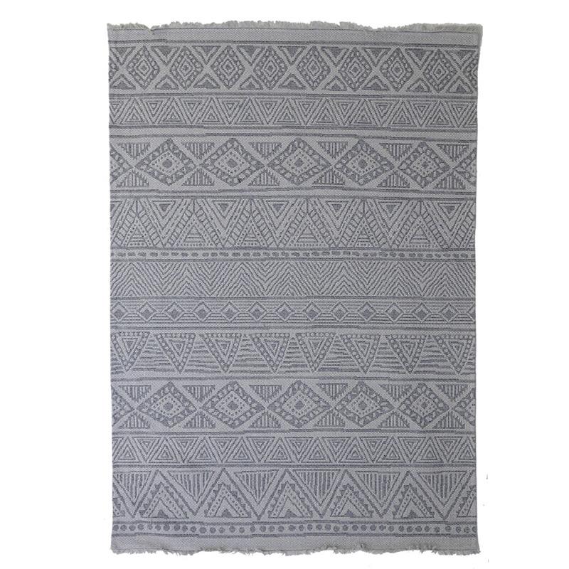 Χαλί Διαδρόμου All Season Royal Carpet Casa Cotton 0.67X1.40 – 22097 Grey