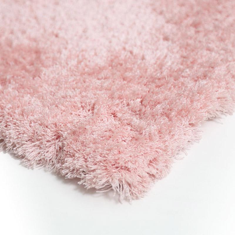 Χαλιά Κρεβατοκάμαρας (Σετ 3 Τμχ) Royal Carpet Micro Shaggy 0.67X4.80 Bedset – L.Pink