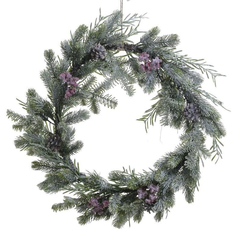 Χριστουγεννιάτικο Στεφάνι Inart 2-85-702-0023
