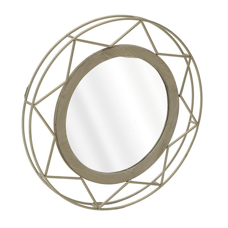 Καθρέπτης Τοίχου Inart 3-95-667-0012