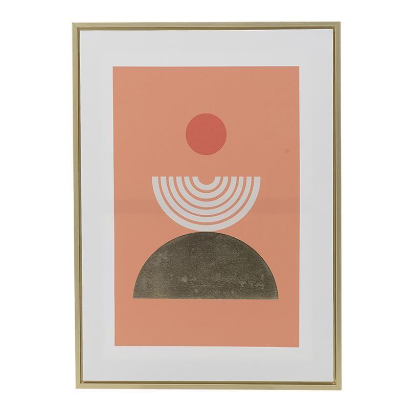 Πίνακας Σε Καμβά Inart 3-90-709-0283