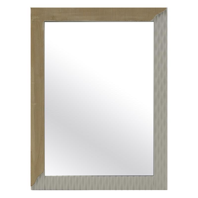 Ξύλινος Καθρέπτης Inart 3-95-482-0012