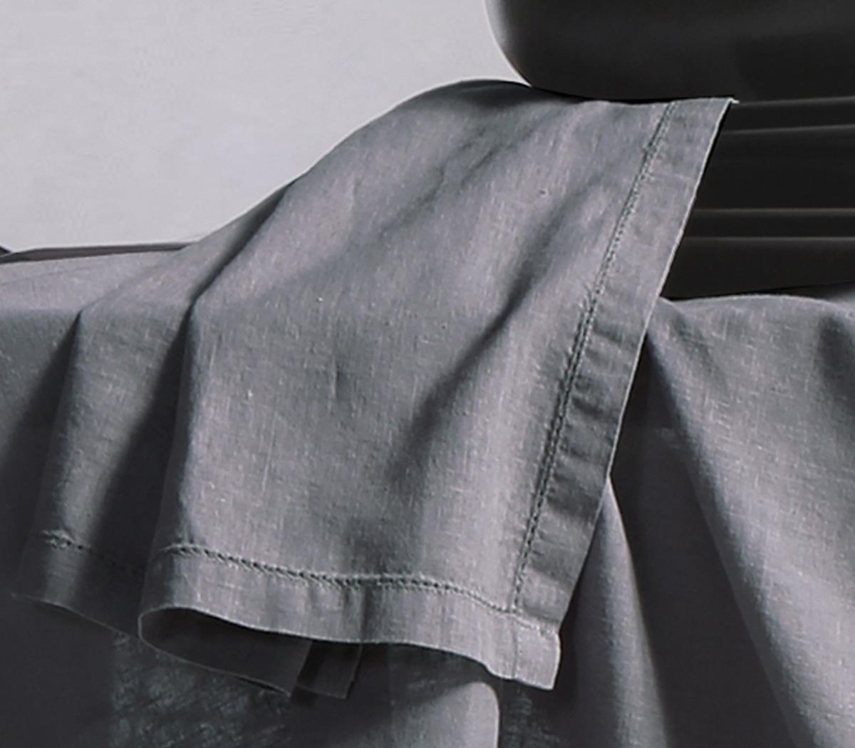 Πετσέτες Φαγητού 50×50 Nef Nef Cotton-Linen Grey