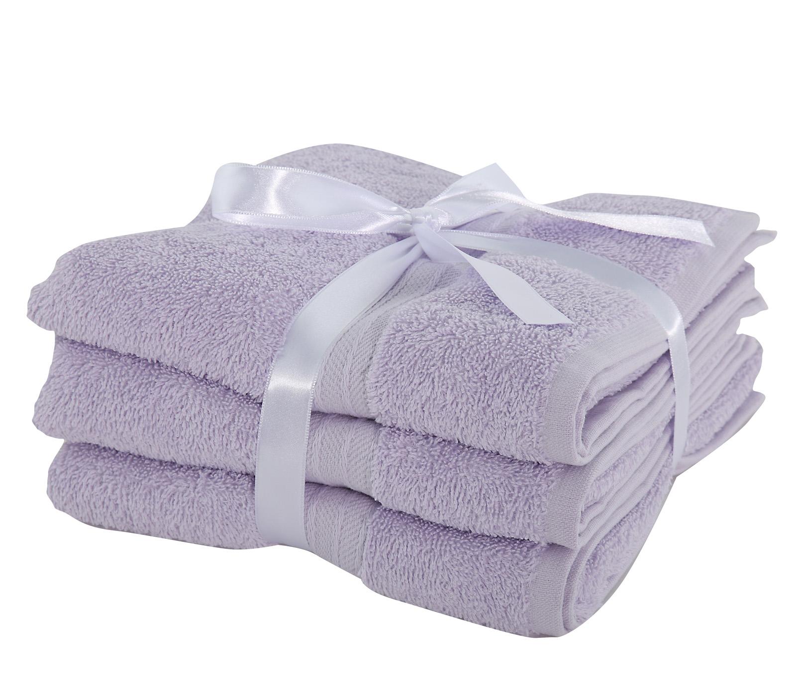 Πετσέτες Προσώπου (Σετ 3 Τμχ) Nef Nef Cosy Lavender
