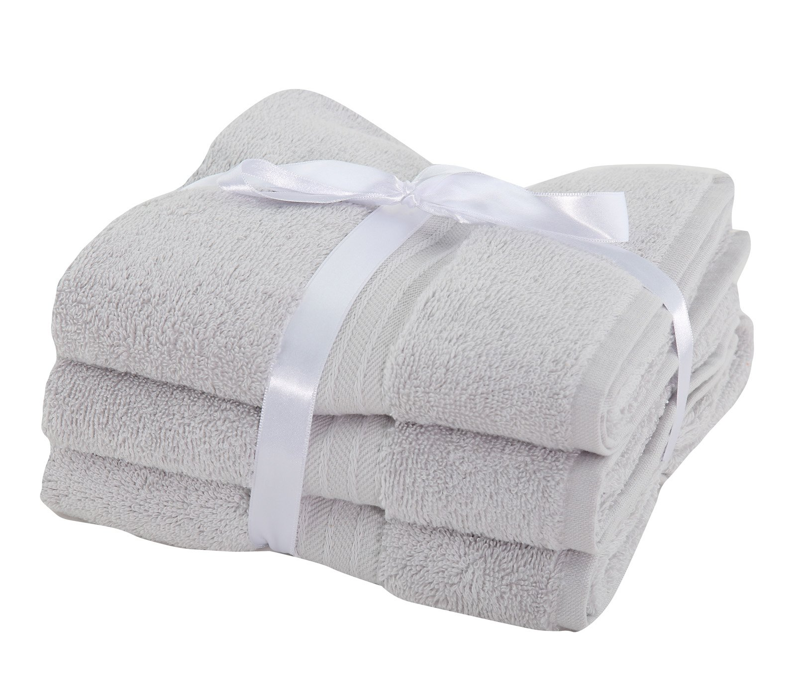 Πετσέτες Προσώπου (Σετ 3 Τμχ) Nef Nef Cosy Grey