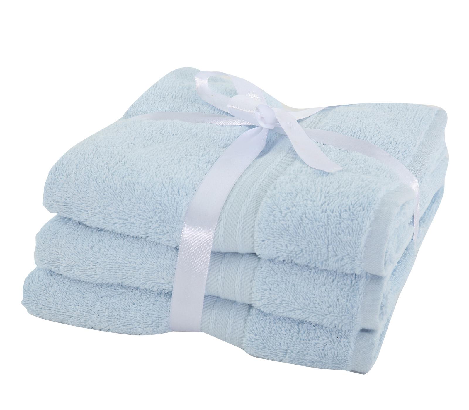 Πετσέτες Προσώπου (Σετ 3 Τμχ) Nef Nef Cosy Blue