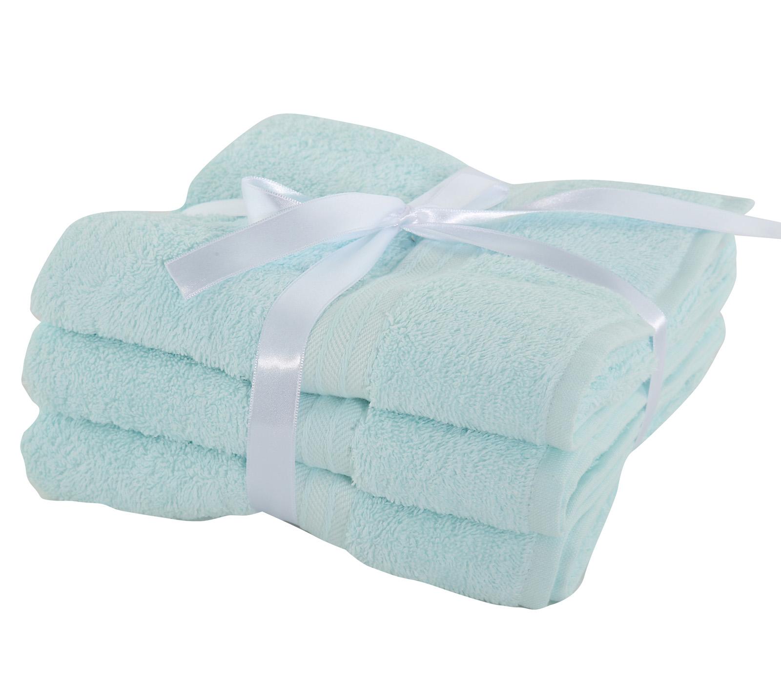 Πετσέτες Προσώπου (Σετ 3 Τμχ) Nef Nef Cosy Mint
