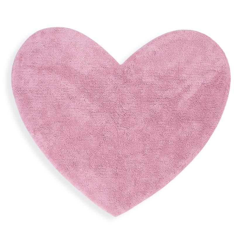 Παιδικό Χαλί 125X100 Nef Nef Junior Heart Pink