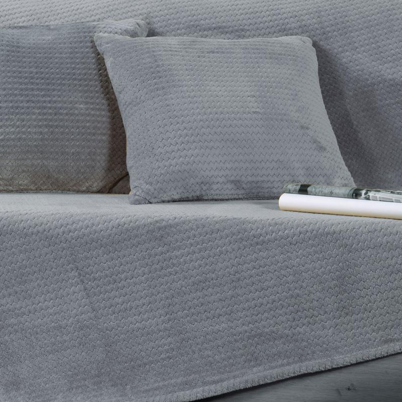 Ριχτάρι Πολυθρόνας 130X180 Nef Nef Cameron Silver (130×180)