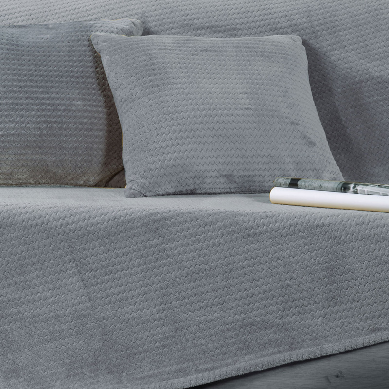 Ριχτάρι Τριθέσιου 180X300 Nef Nef Cameron Silver (180×300)