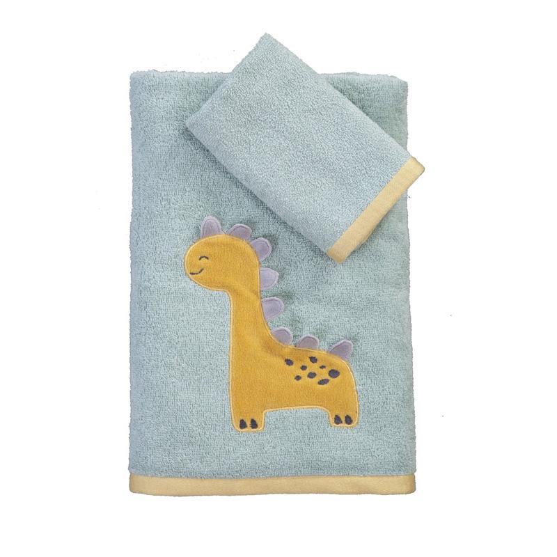 Παιδικές Πετσέτες (Σετ 2 Τμχ) Nef Nef Baby Dino Green