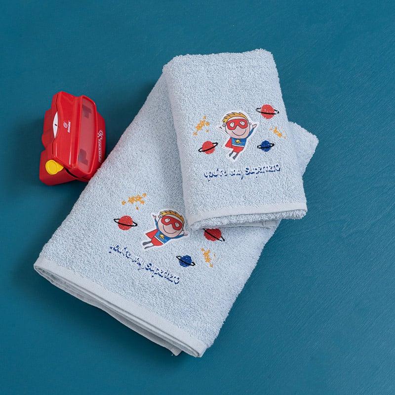 Παιδικές Πετσέτες (Σετ 2 Τμχ) Palamaiki Champ