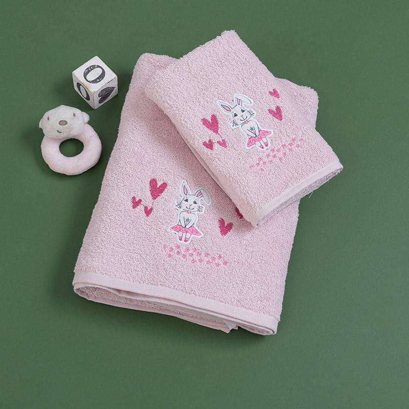 Παιδικές Πετσέτες (Σετ 2 Τμχ) Palamaiki Mia