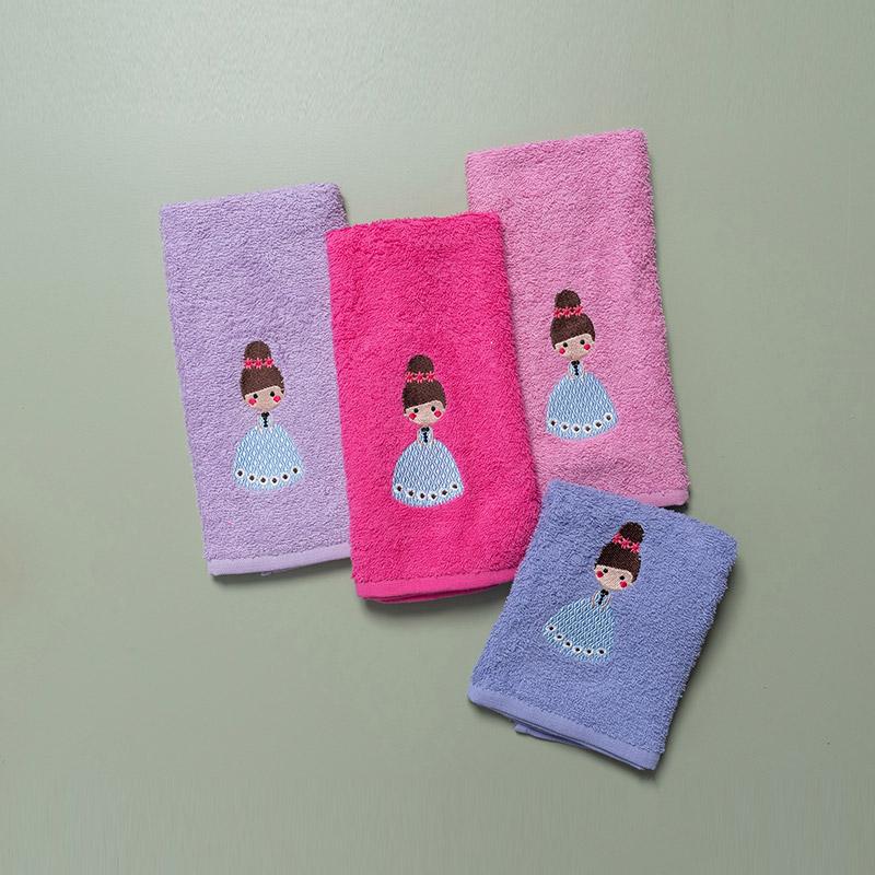 Παιδικές Πετσέτες (Σετ 4 Τμχ) 40X60 Palamaiki Lamer (40×60)
