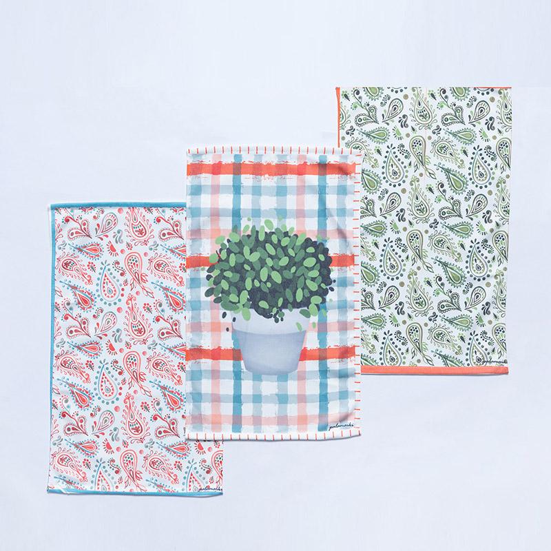 Πετσέτες Κουζίνας (Σετ 3 Τμχ) 40X60 Palamaiki Kd1 (40×60)