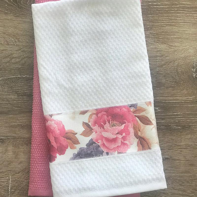 Πετσέτες Κουζίνας (Σετ 2 Τμχ) 40X60 Palamaiki Peony (40×60)