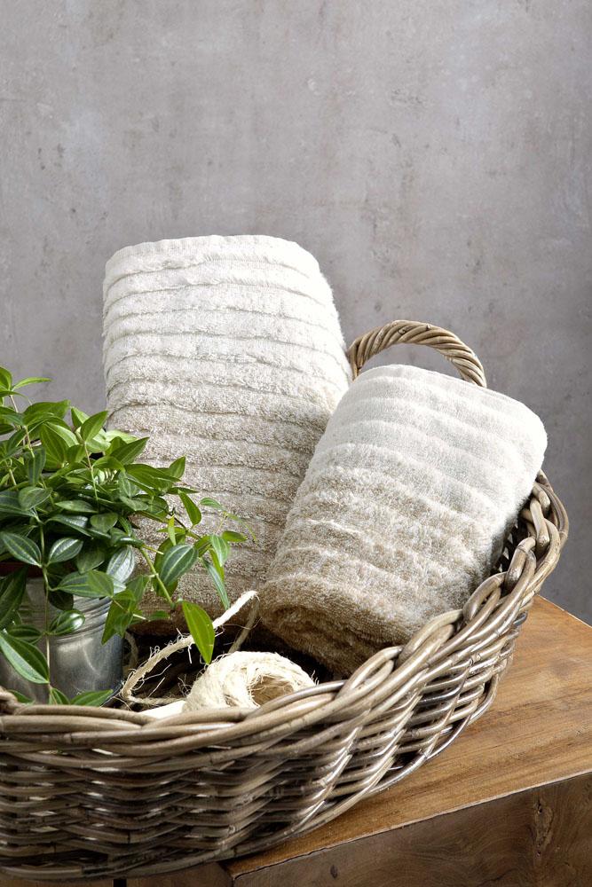 Πετσέτες Προσώπου (Σετ) (2 x 50×90) Le Bain Nima – Ombre