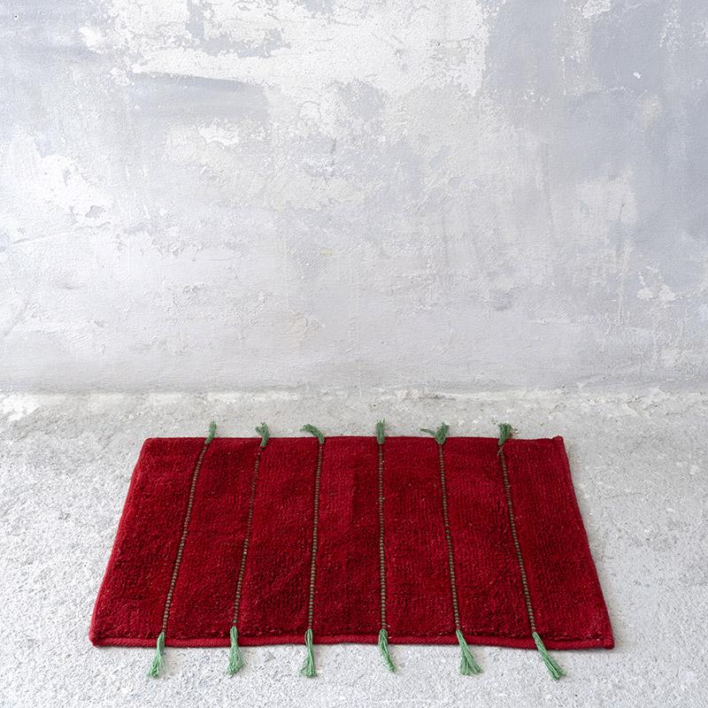 Πατάκι Μπάνιου 70X110 Nima Amaya Red (70×110)