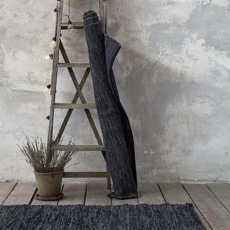 Χαλί Διαδρόμου 60X130 Nima Jatin Dark Gray (60×130)