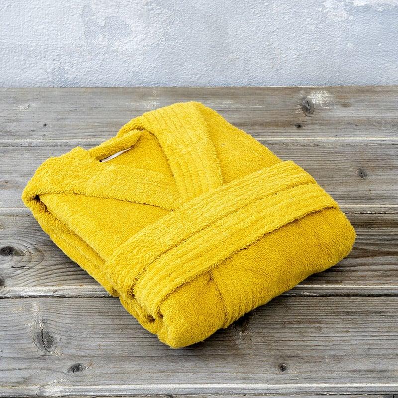 Μπουρνούζι Με Κουκούλα 10 Nima Wizard Corn Yellow