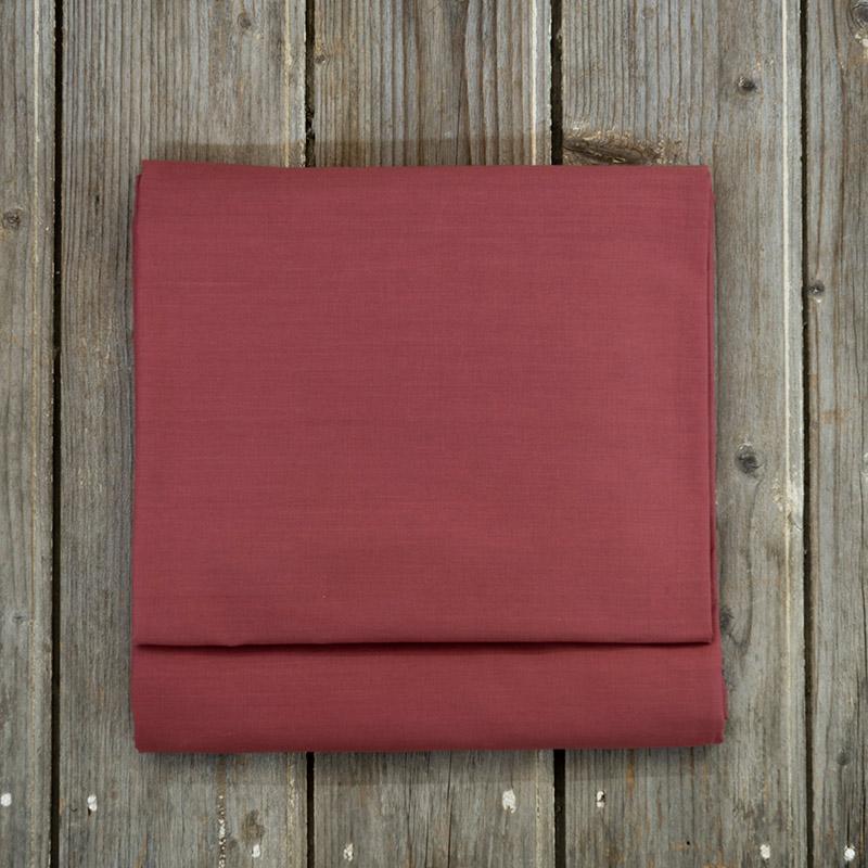 Σεντόνι Μεμονωμένο Υπέρδιπλο 240X260 Nima Unicolors Wine Red Χωρίς Λάστιχο (240×260)