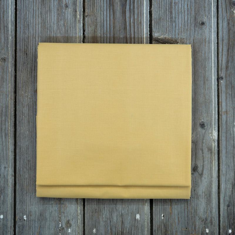 Σεντόνι Μεμονωμένο Υπέρδιπλο 240X260 Nima Unicolors Mustard Beige Χωρίς Λάστιχο (240×260)