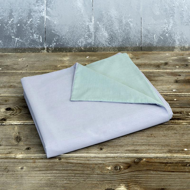 Παπλωματοθήκη Μεμονωμένη Υπέρδιπλη 220X240 Nima Colors Shadow Blue / Steel Gray (220×240)